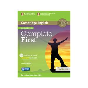 Complete First 2nd Edition. Podręcznik Bez Odpowiedzi + CD-ROM + Testbank
