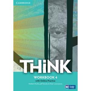 Think 4. Ćwiczenia + Online Practice