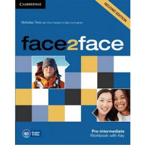 Face2Face Pre-Intermediate. Ćwiczenia z Kluczem