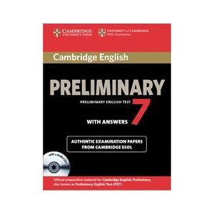 Cambridge English Preliminary (PET) 7.   Self Study Pack (Podręcznik z Kluczem + CD)