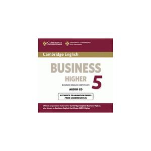 Cambridge English Business (BEC) 5 Higher.   CD do Podręcznika