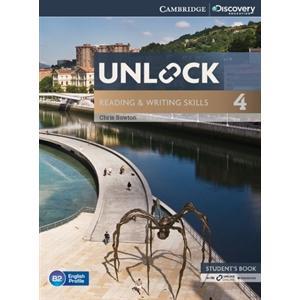 Unlock: Reading & Writing Skills 4. Podręcznik + Online Workbook