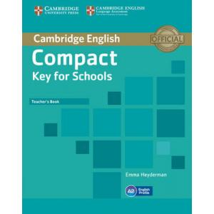Compact Key for Schools. Książka Nauczyciela