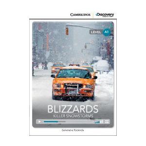 Blizzards: Killer Snowstorms. Cambridge Discovery Education Interactive Readers (z kodem)