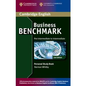 Business Benchmark 2nd Edition Pre-Intermediate to Intermediate BULATS and BEC Preliminary. Personal Study Book