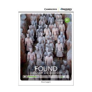 Found: Discovery and Recovery. Cambridge Discovery Education Interactive Readers (z kodem)