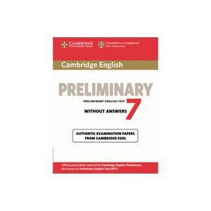 Cambridge English Preliminary (PET) 7.   Podręcznik bez Klucza
