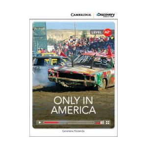 Only in America. Cambridge Discovery Education Interactive Readers (z kodem)