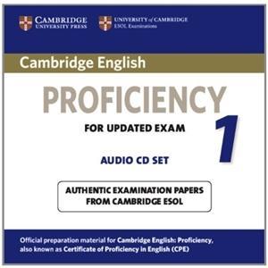 Cambridge English Proficiency 1.   CD do Podręcznika