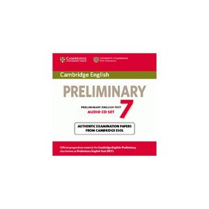 Cambridge English Preliminary (PET) 7.   CD do Podręcznika