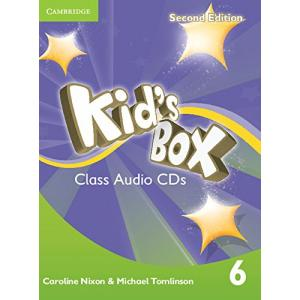 Kid's Box 2ed 6 Audio CD (3)