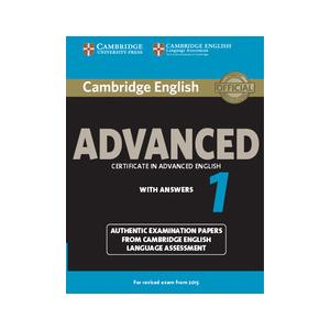 Cambridge English Advanced 1. Podręcznik z Kluczem