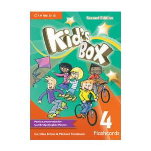 Kids Box 4 Second Edition. Flashcards