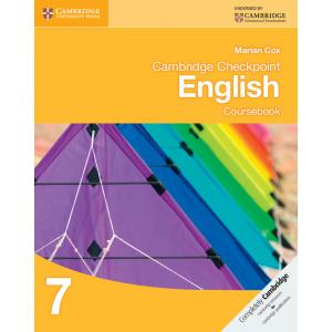 Cambridge Checkpoint English 7. Coursebook