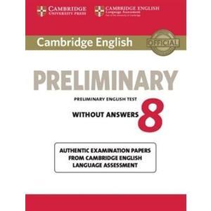 Cambridge English Preliminary (PET) 8. Podręcznik bez Klucza