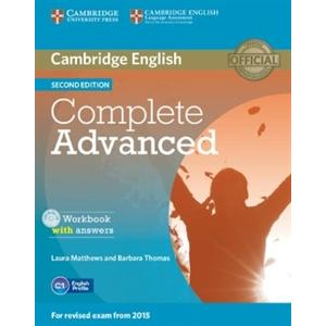 Complete Advanced 2nd Edition. Ćwiczenia z Kluczem + CD