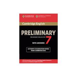 Cambridge English Preliminary (PET) 7.   Podręcznik z Kluczem