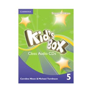 Kid's Box 2ed 5 Audio CD (3)