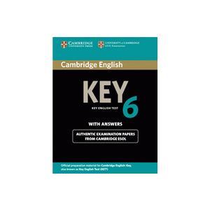 Cambridge English Key (KET) 6.   Podręcznik z Kluczem
