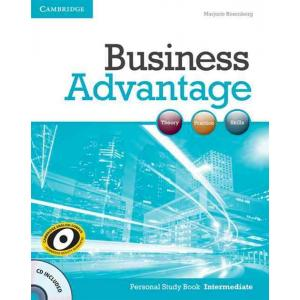 Business Advantage Intermediate.   Personal Study Book + CD