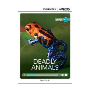 Deadly Animals. Cambridge Discovery Education Interactive Readers (z kodem)