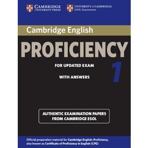 Cambridge English Proficiency 1. Podręcznik z Kluczem