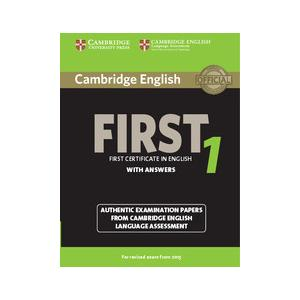 Cambridge English First 1. Podręcznik z Kluczem