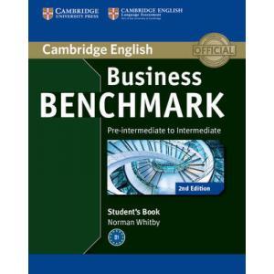 Business Benchmark 2nd Edition Pre-Intermediate to Intermediate BULATS. Podręcznik