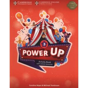 Power Up 3. Ćwiczenia + Online Resources and Home Booklet