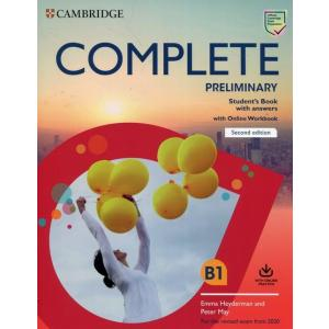 Complete Preliminary 2ed Student's Book with Answers with Online Workbook