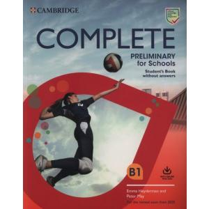 Complete Preliminary for Schools. Student's Book without Answers with Online Practice B1. Exam 2020