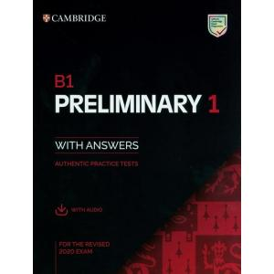 B1 Preliminary 1 for revised exam from 2020 Student's Book Pack