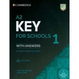 A2 Key for Schools 1 for revised exam from 2020 Student's Book Pack