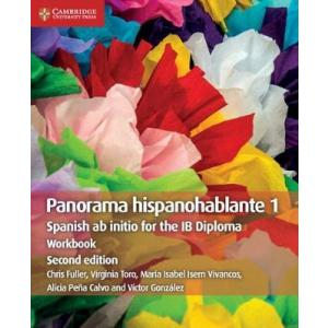 Panorama Hispanohablante 1 Workbook: Spanish ab initio for the IB Diploma (Spanish Edition)