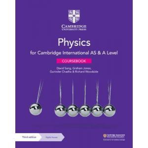 Cambridge International AS & A Level Physics. Coursebook with Digital Access