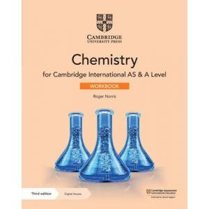 Cambridge International AS & A Level Chemistry. Workbook with Digital Access