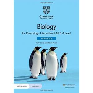 Cambridge International AS & A Level Biology Workbook with Digital Access