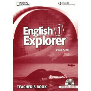 English Explorer International 1. Książka Nauczyciela + CD
