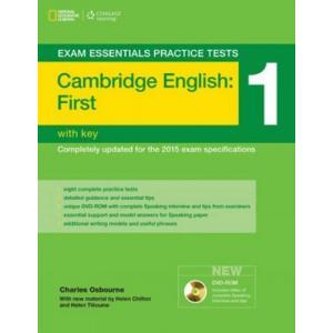 Exam Essentials Practice Tests: Cambridge English First (FCE) 1. Książka z Kluczem + DVD