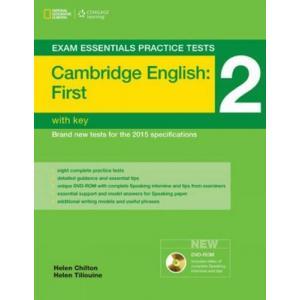 Exam Essentials Practice Tests: Cambridge English First (FCE) 2. Książka z Kluczem + DVD