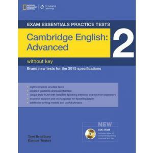Exam Essentials Practice Tests: Cambridge English Advanced (CAE) 2. Książka bez Klucza + DVD