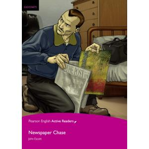 Newspaper Chase + MP3. Pearson English Active Readers