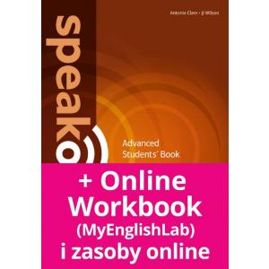 Speakout 2Ed Advanced. Podręcznik + DVD-ROM + MyEnglishLab
