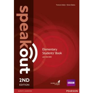 Speakout 2Ed Elementary. Podręcznik + DVD