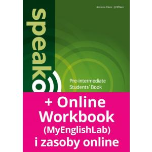 Speakout 2Ed Pre-Intermediate. Podręcznik + DVD-ROM + MyEnglishLab