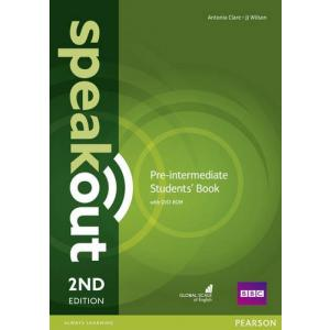 Speakout 2Ed Pre-Intermediate. Podręcznik + DVD