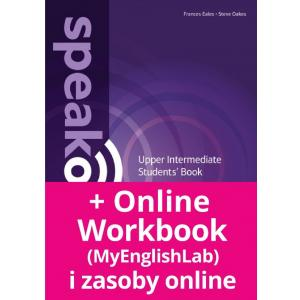Speakout 2ND Edition Upper-Intermediate. Podręcznik + DVD-ROM + MyEnglishLab