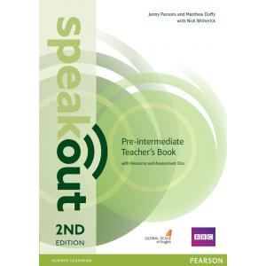 Speakout 2ed Pre-Intermediate. Teacher's Guide with Resource & Assessment Disc Pack
