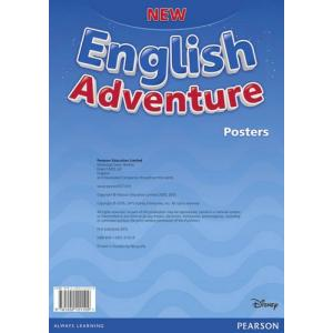 New English Adventure Starter. Plakaty