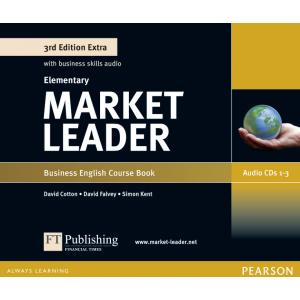 Market Leader 3Ed Extra Elementary. Class Audio CD